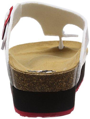 Mujer Sandalias Loli Schwarz De Material Abiertas Desigual Negro 2000 Shoes Sinttico E0ARqwaP