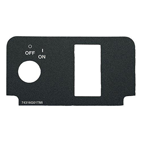 Ezgo 74316G01 Fnr Console Plate