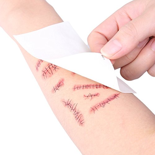 Tattoo Body Paints Temporary Tattoos Stickers for Halloween by TE-CO