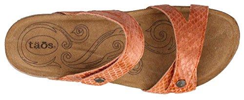 Taos Kvinna Audition Läder Sandal Apelsin