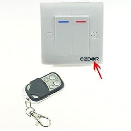 Agente007 - Camara Espia Dvr Oculta En Interruptor De Pared 480P Detector De Movimiento