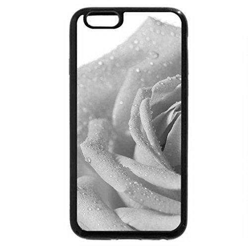 iPhone 6S Plus Case, iPhone 6 Plus Case (Black & White) - A Fresh New Rose