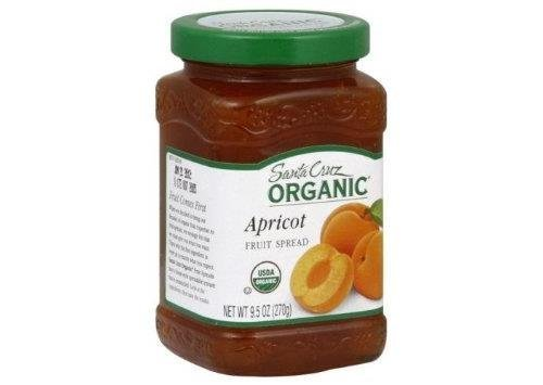 Organic Apricot Fruit Spread 9.50 Ounces (Case of 12) by Santa Cruz Organic by Santa Cruz Organic