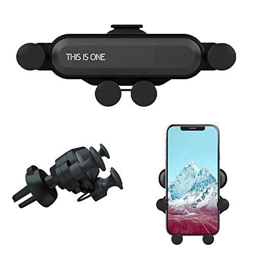 Car Phone Mount, Air Vent Phone Holder for Car,Shockproof, Stable, Non-Slip, Mobile Phone Holder Compatible with iPhone Xs/Xs Max/XR/X / 8/8 Plus /7/7 Plus Samsung Galaxy - Phones Shockproof Mobile