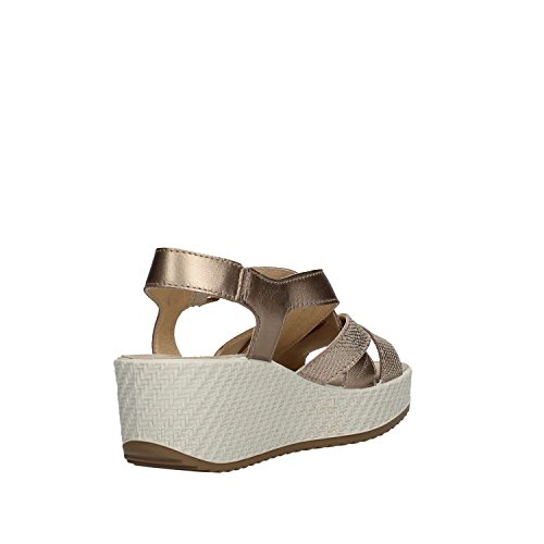 Soft Donna Italy Enval Made Pelle Ecru' Sandalo In Scarpa 12845 Awdvx7qPF