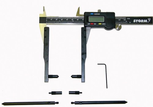 Central Tools 3K301 Electronic Digital Caliper with Adapter Kit