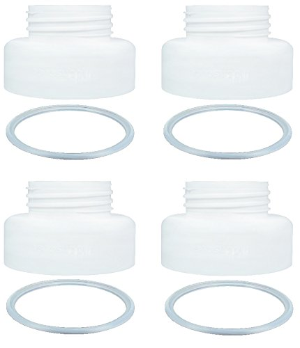 Pumps Avent (Breastshield Adapter for Medela Breastshield Bottle Thread Changer Breastpump Converter Use Medela Breastpump Pump Into Wide Mouth Bottle Use on Pump In Style Swing Symphony Harmony and Avent Bottle)
