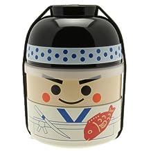 Kotobuki 280-266 Sushi Chef Bento Box Set, White