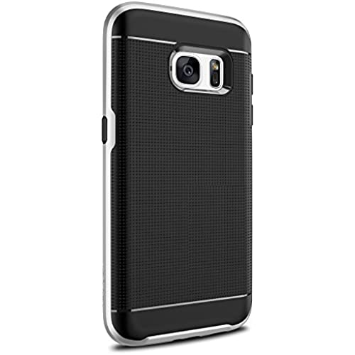 Galaxy S7 Case, MyCell 2 Layer Bumper Cover for Samsung Galaxy S7 (Silver) Sales