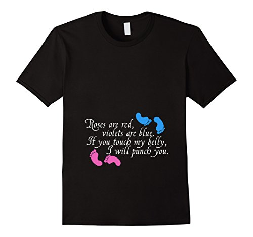 If you touch my belly, I will punch you pregnancy shirt