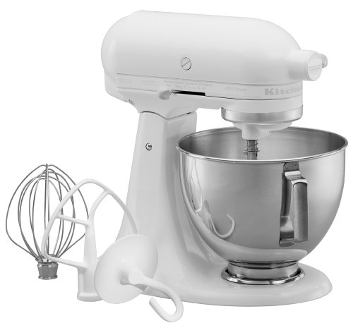 Ordinaire KitchenAid KSM90WW 300 Watt Ultra Power 4 1/2 Quart Stand Mixer, White On  White (B00004SGG7) | Amazon Price Tracker / Tracking, Amazon Price History  Charts, ...