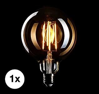 Crown Led Edison Gluhbirne E27 Fassung Traumhaft Sanftes Licht