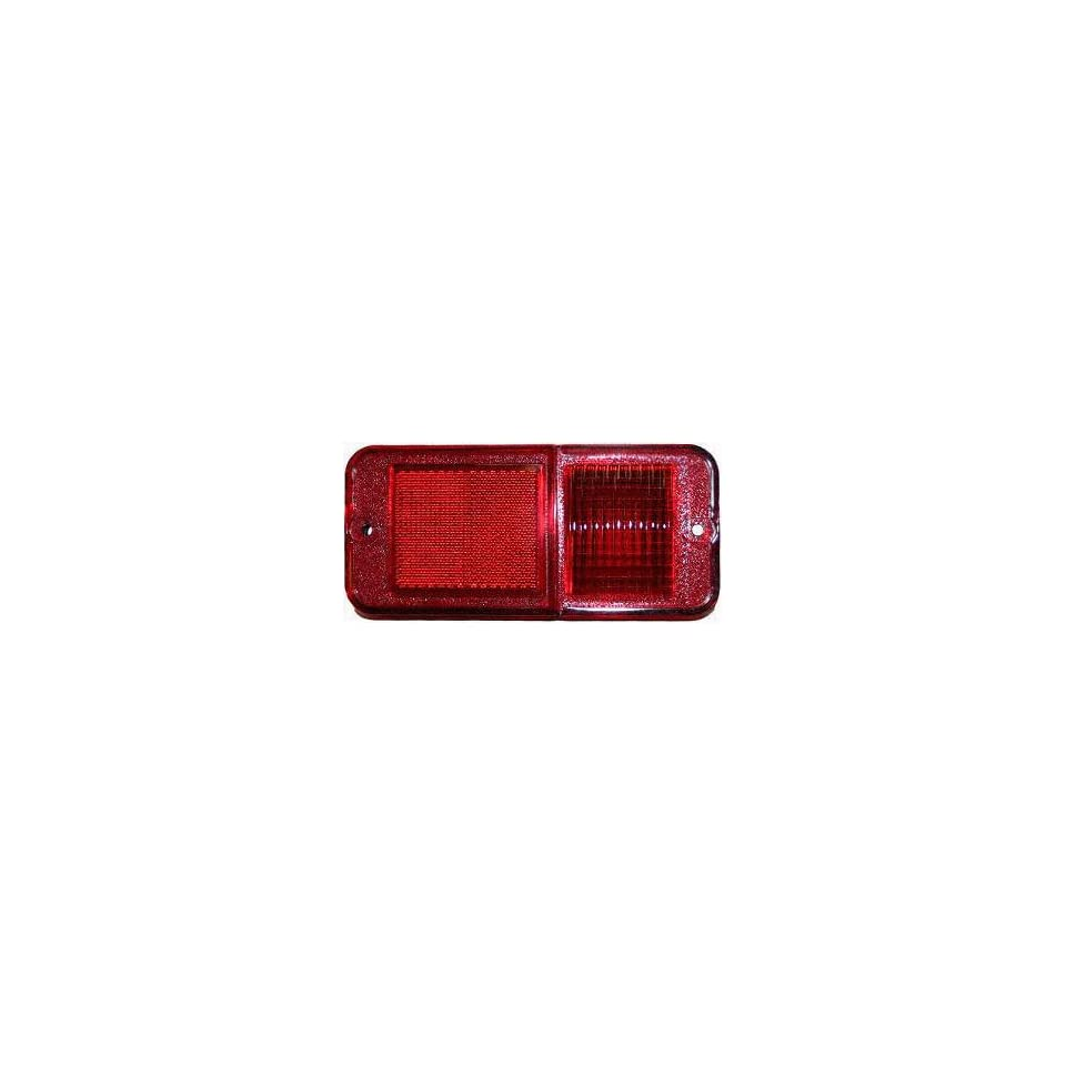 68 72 CHEVY CHEVROLET FULL SIZE PICKUP fullsize REAR SIDE MARKER LIGHT (PASSENGER = DRIVER SIDE) TRUCK, Red Standard W/O Trim (W/O SAE/DOT) (1968 68 1969 69 1970 70 1971 71 1972 72) C00732302 915119