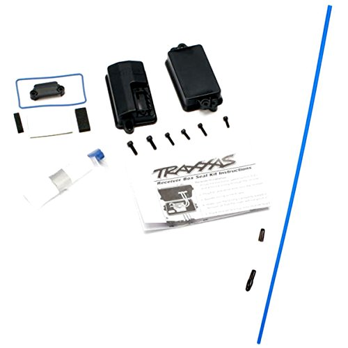 Traxxas Stampede 2wd XL-5 VXL WATERPROOF RECEIVER BOX - GREASE & ANTENNA TUBE