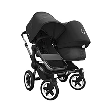 Black Ride On Board With Saddle Compatible With Bugaboo Donkey mono