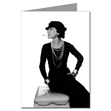 80ee1a6f903 Image Unavailable. Image not available for. Color  Coco Chanel Wearing an  LBD - Little Black Dress ...