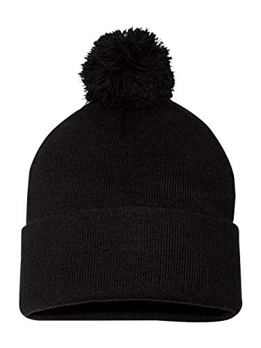 (Sportsman - Pom Pom Knit Cap - SP15 - One Size -)