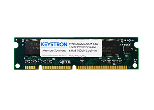 32d Dram Memory (64MB Cisco 2600XM Series Routers Dram Memory (p/n MEM2600XM-64D) 2611XM 2610XM,2620XM,2621XM, 2650XM, 2651XM)