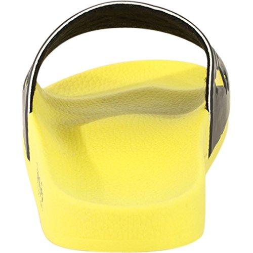 Hugo Yellow Sandals Boss Shoes Mens Boss Slides Open Solar Hugo np6qO