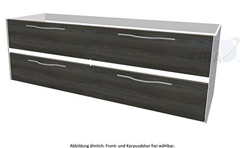 PELIPAL SOLITAIRE 6010 Waschtischunterschrank inkl. LED / WTUSLB 08 / Comfort N / 152x51,2x49,3cm /