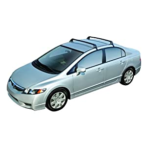 ROLA 59759 Removable Mount GTX Series Roof Rack for Honda Civic 4 Dr. Sedan
