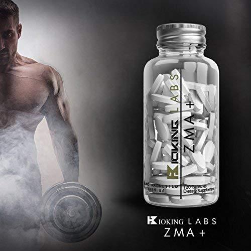 ZMA Extreme | Zinc, Maganesium y Vitamina B6 ZMA Suplemento | Promueva la fuerza muscular, la resistencia y la recuperación, aumente los niveles de ...