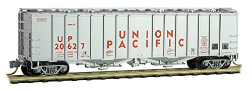 - Micro-Trains MTL N-Scale 50ft Airslide Covered Hopper Union Pacific/UP #20627