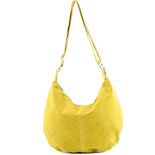 Gelb sac sac main italien à à en cabas cuir véritable T02 bandoulière Sac femme SxOqw4Ff