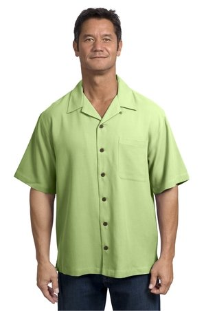 Port Authority Signature silk blend camp shirt (S533)
