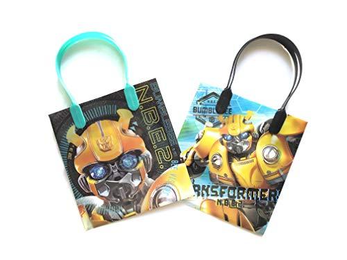12 Pieces Disney Pixar Nickelodeon Birthday Goody Gift Loot Favor Bags Party Supplies (Bumble Bee -