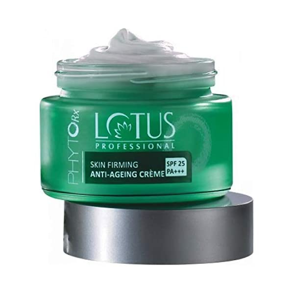 Lotus Professional Phyto Rx SPF-25 Skin Firming Anti Ageing Creme, 50 g 2021 July Lotus professional product Easy to use. For all Skin Types Anti-ageing crème