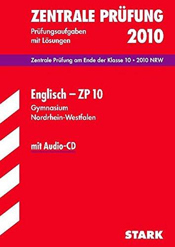 Zentrale Prüfung Gymnasium Nordrhein-Westfalen - Englisch mit CD