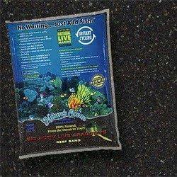 Fish & Aquatic Supplies Bio - Active &Quotlive&Quot Aragonite Black Beach Reef Sand 20Lb (2Pc)
