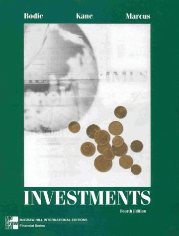 Investments (McGraw-Hill International Editions)