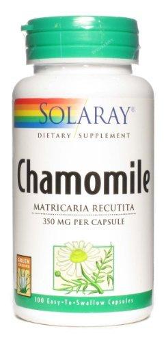 SOLARAY ромашки 350 мг, 100 капсул