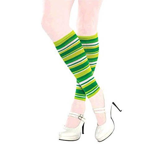 Lucky Irish Green St. Patrick's Day Leg Warmers Party Wearables, Fabric, 15