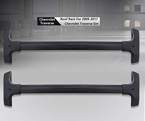 For 2009-2017 Chevrolet Traverse Roof Rack Rail Cross Bar Carrier OE Replace