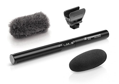 Price comparison product image Sennheiser MKE 600 Short Shotgun Microphone w / Sennheiser MZH600 Windshield