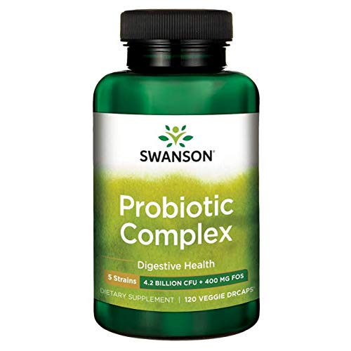 Swanson Probiotic Complex 4 Billion Cfu 120 Veg Capsules Review