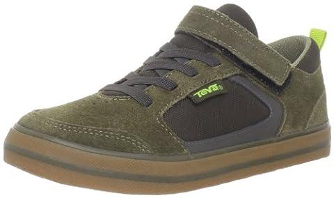 Teva Crank C's Athletic Shoe (Toddler/Little Kid),Dark Olive,10 M US Toddler (Kid Teva Flip Flops)