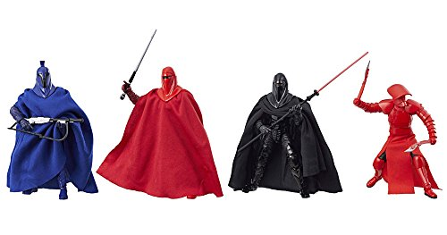 Star Wars The Black Series Guard Action Figure 4 Pack Exclusive Senate  Imperial Royal  Emperors Shadow And Elite Praetorian