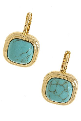 THE JEWEL RACK CLASSIC BEZEL SET SQUARE  - Dome Set Earrings Shopping Results