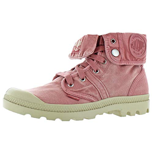 Palladium Pallabrouse Baggy Women's Military Combat Boots Pink Size 9