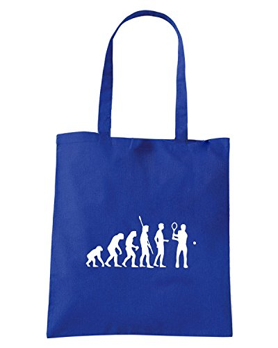T-Shirtshock - Bolsa para la compra OLDENG00803 evolution tennis Azul Real