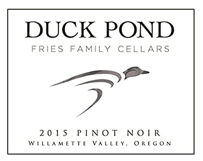 2015 Duck Pond Cellars Pinot Noir Oregon, Willamette Valley 750ml by Duck Pond Cellars