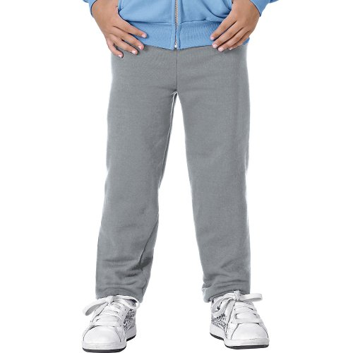 Hanes Youth ComfortBlend EcoSmart Sweatpants_Light Steel_X-Small