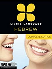 Hebrew, Complete Editionis a unique multimediacoursethat takes you from a beginner to an advanced level in one convenient package. At the core of Hebrew, CompleteEditionis the Living Language Method™, based on linguistic science, proven...