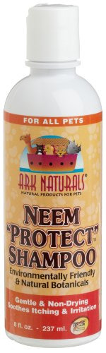 Ark Naturals Neem Protect Shampoo for All Pets, 8-Ounce Bottles (Pack of 3)
