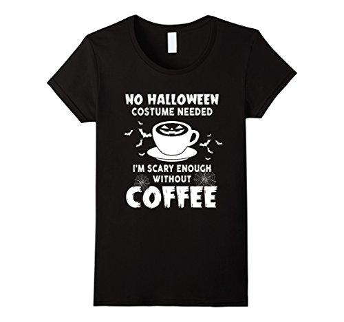 Womens Halloween custome needed funny shirt Medium Black