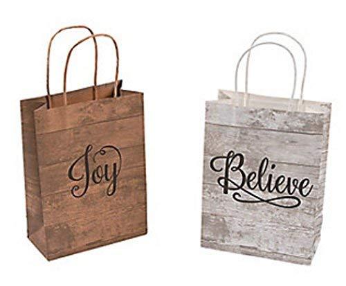 Medium Religious Kraft Paper Gift Bags ( 1 Dozen) -